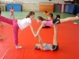1 gymnaste sélectionnée dans le collectif départemental acrosport