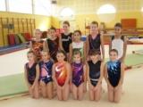 2 gymnastes sélectionnées dans le collectif perfectionnement GAF