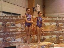Qualifées aux championnats de france Gymnastique Rythmique