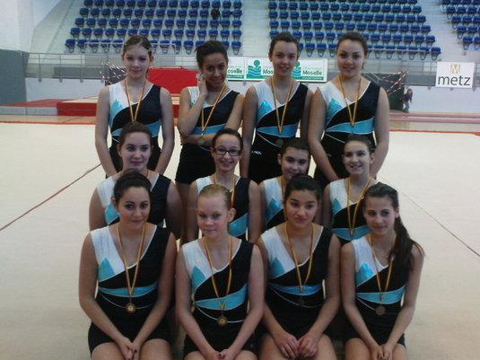 Finale régionale Team Gym / Metz le 30 Janvier 2011