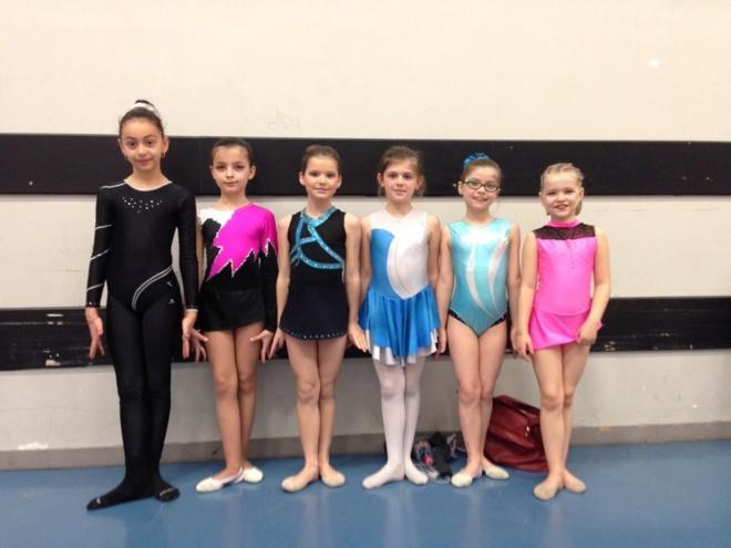 Week end chargé pour la Gymnastique Rythmique Fameckoise