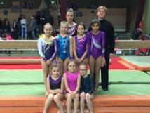 Compétition départementale Gymnastique Artistique