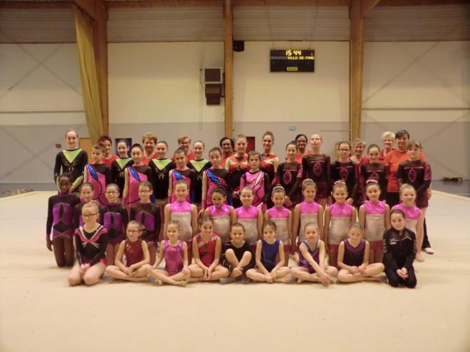 Rencontre interne-club Gymnastique Rythmique