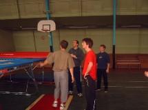 Stage initiateur et perfectionnement trampoline