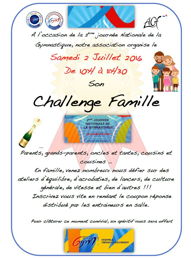 Challenge famille 2016