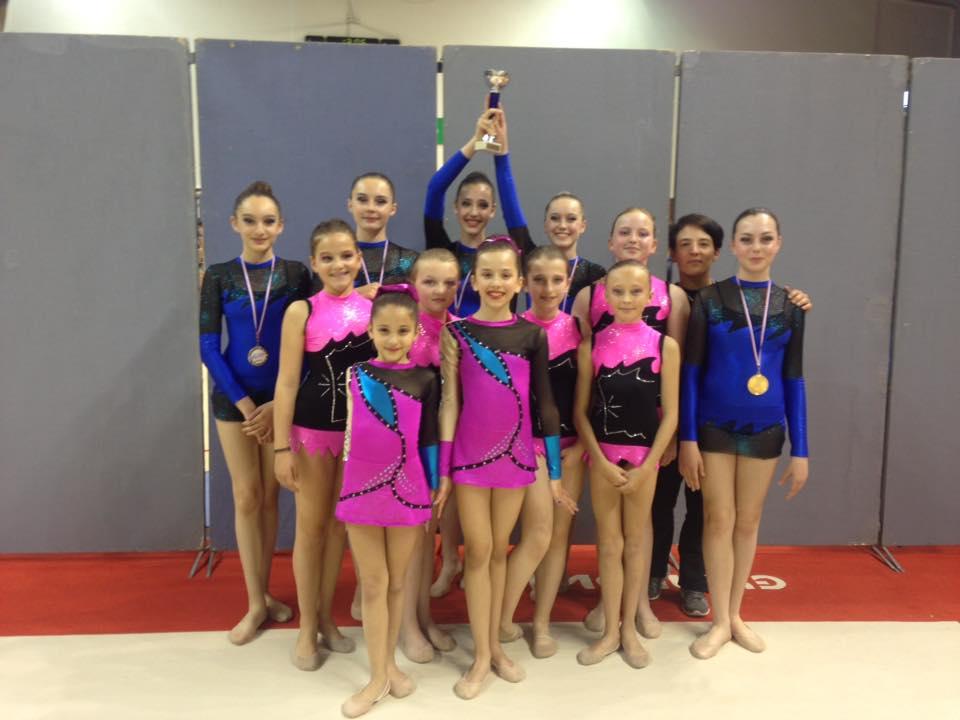 Résultats championnats de zone est de Gymnastique Rythmique