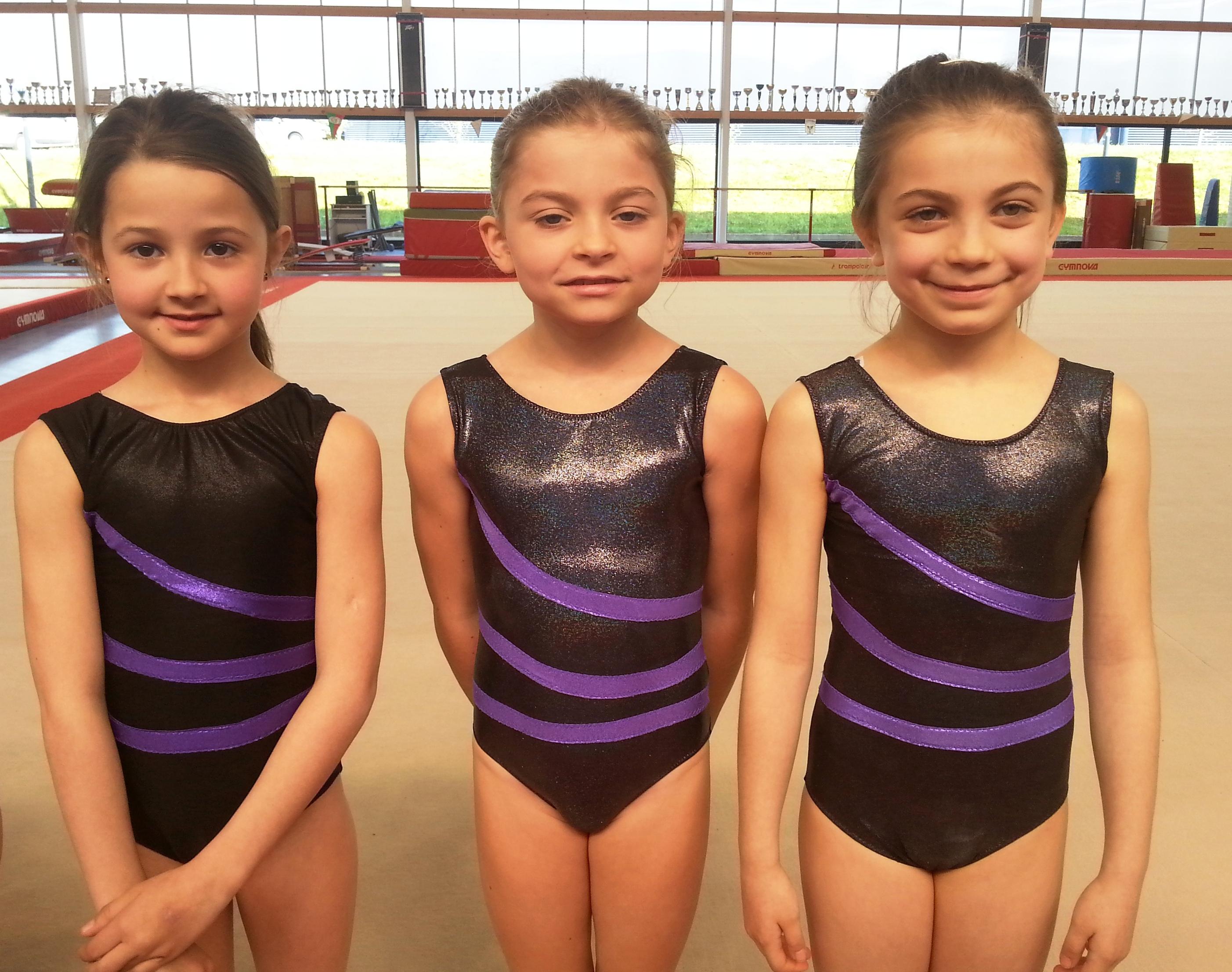 Photo : Les CE 9 ans : Zoé, Flavie et Laura