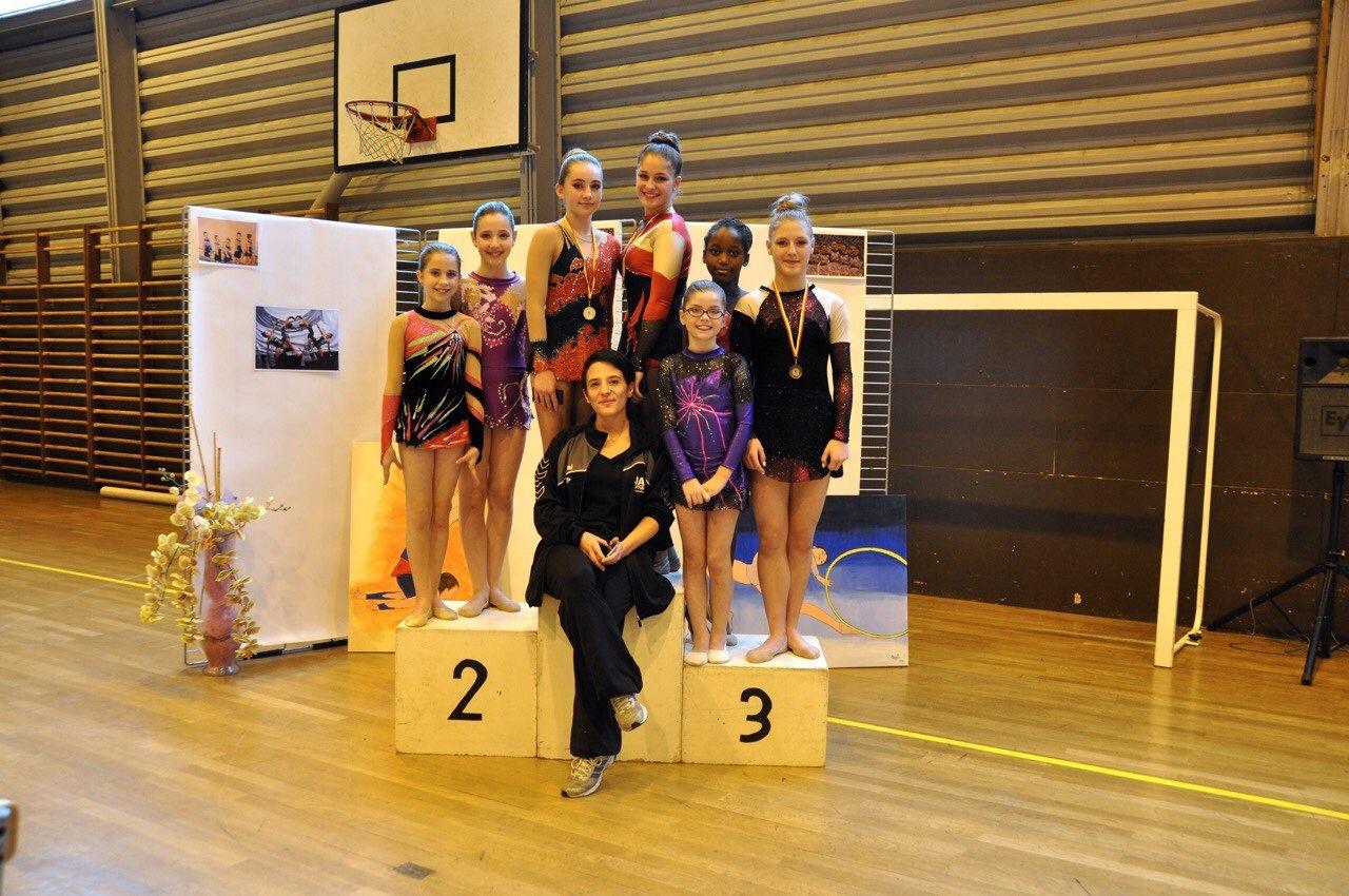 Résultats du championnat régional individuelle de Gymnastique Rythmique