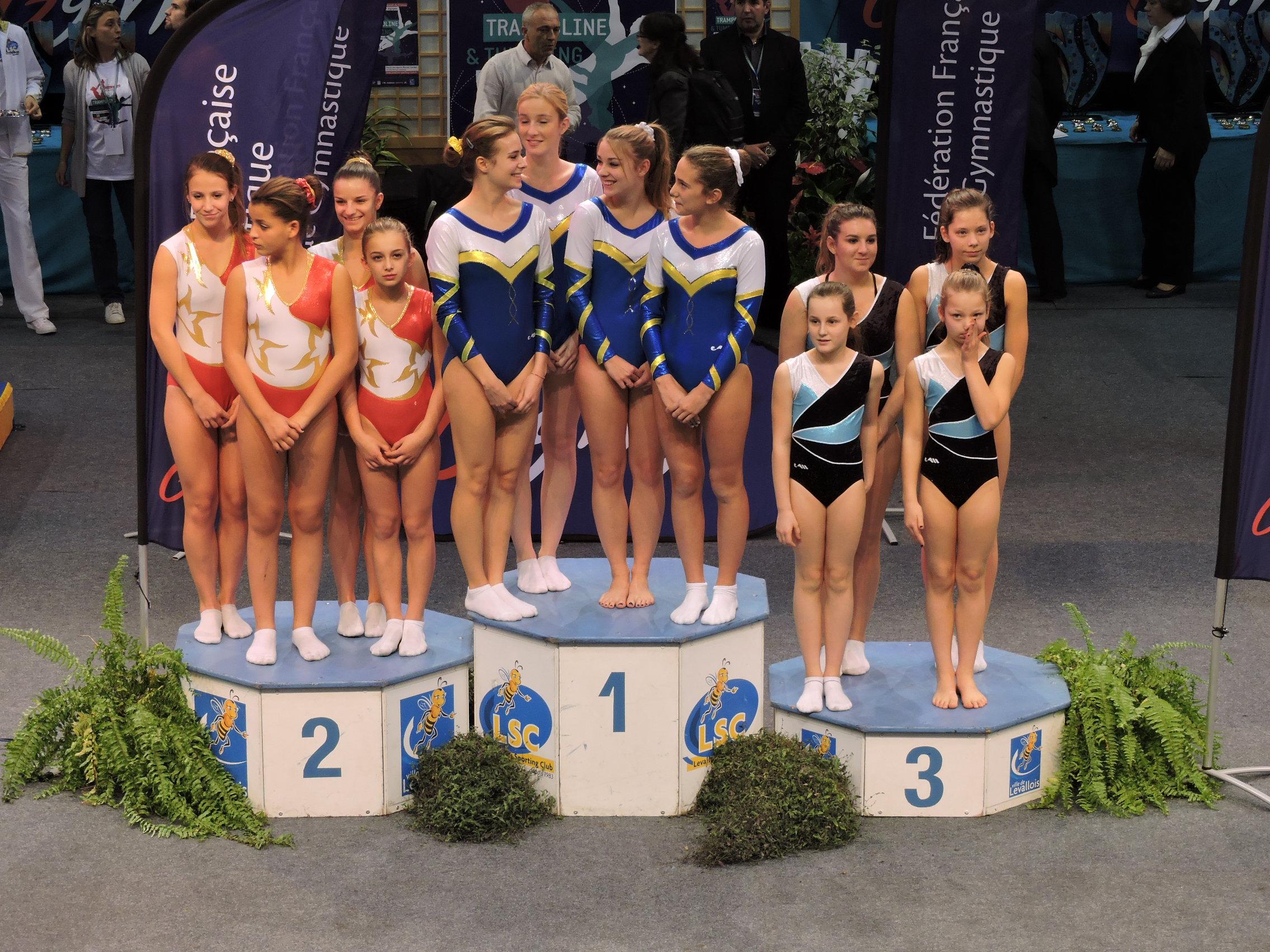 Médaillées de bronze au championnat de France Division Nationale 3