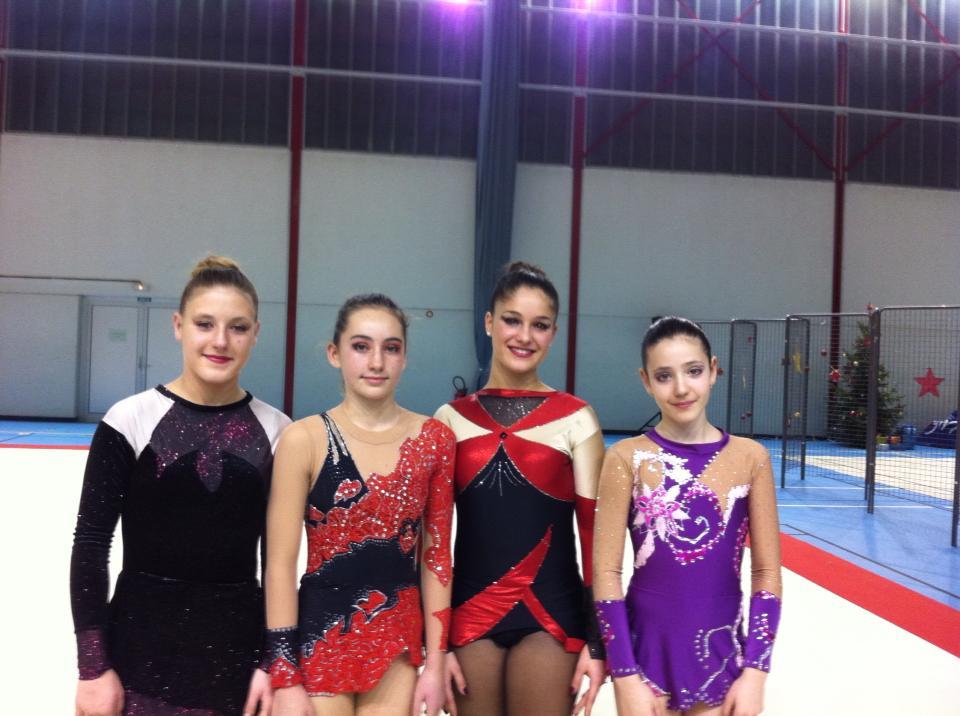 La Gymnastique Rythmique au championnat de france