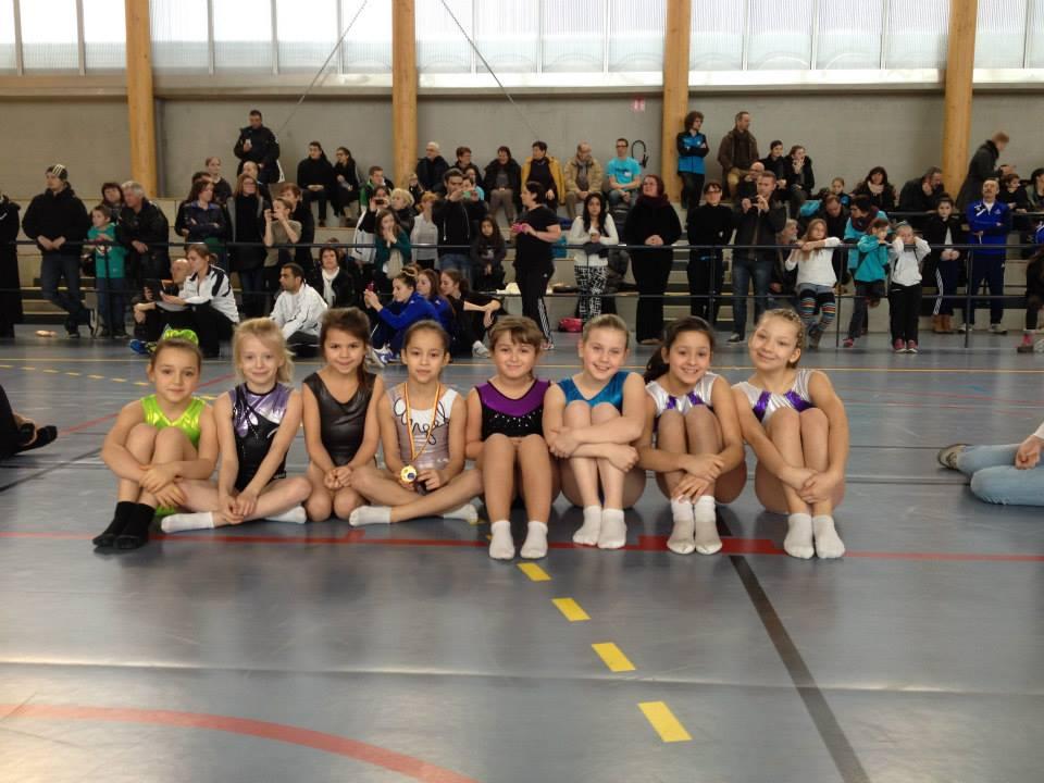 Résultats du championnat de Lorraine de trampoline