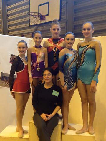 Resultats championnat régional de Gymnastique Ryhtmique